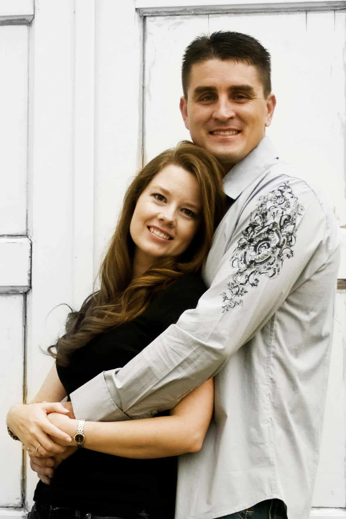 My Husband Aaron and I