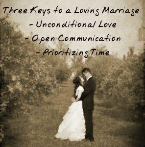 3 Keys Loving Marriage