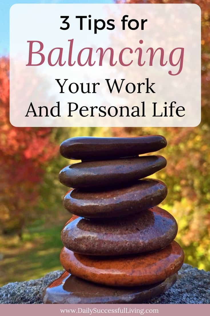 Are you tired of trying to juggle work and parenting responsibilities? Being a working mom means lots of mom guilt. These three tips will help you balance your work and personal life to give you better work-life balance.