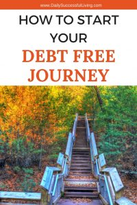 Do you want to be debt free? We did and started our families debt free journey with $446,000 in debt. These 3 simple steps will help you pay off your debt and move towards financial freedom | Help make your debt free journey easier | Journey to become debt free | #moneymatters #debtfreedom