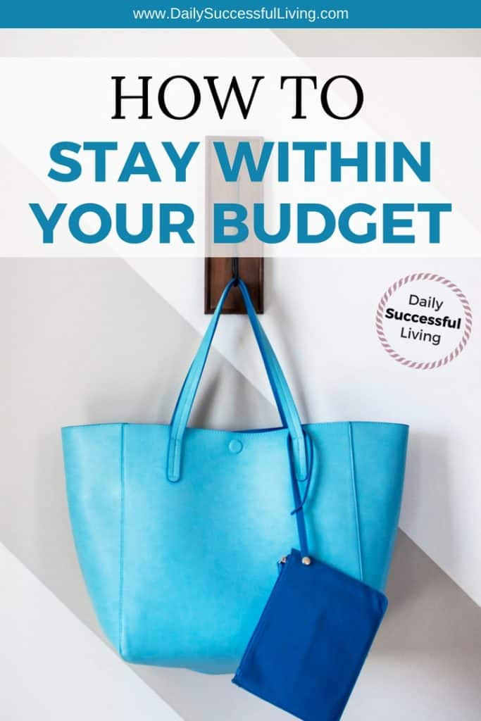 Living with a budget is hard.  I completely blew my budget last year and have 6 budgeting tips that will help you stay within your budget. | How to keep a budget | How to stay within your budget | Tips to help you manage and maintain a budget | #budgetingtips