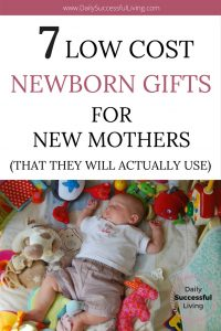 Trying to find the perfect gift for the new mom in your life? I love practical gifts that actually get used. These 7 gifts were ones I recieved and loved. These are inexpensive newborn baby gift ideas that any mother would love to receive. #babyshowergiftideas #newbornbabygifts #babygifts #newmother