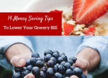 14 Money Savings Tips To Lower Your Grocery Bill