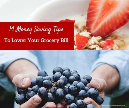 14 Money Saving Tips to Lower Your Grocery Bill
