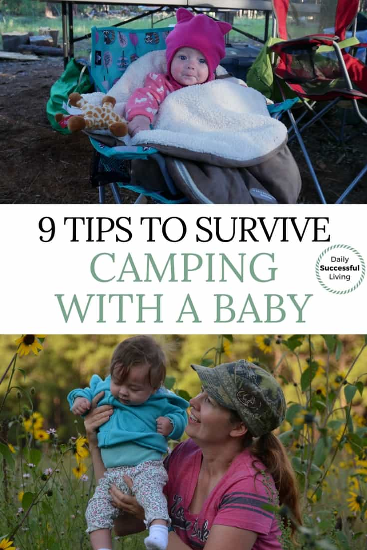 Do you want to develop a love of nature with your children. These 9 tips for camping with a baby will help you survive the experience. Tent camping with a baby takes a bit of extra work, but is worth the hassle. #campingwithababy #tentcamping #babylife #outdoorlife