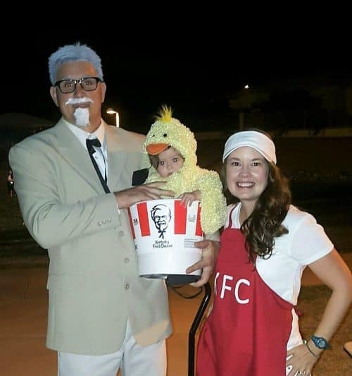 KFC Group Halloween Costume