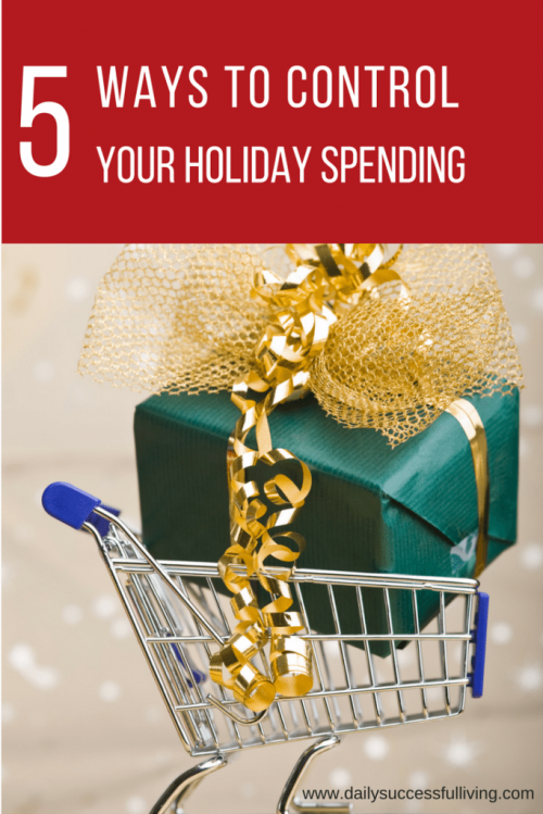 5 Ways to Control Your Christmas Holiday Spending