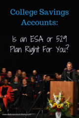 College Savings Accounts - Is an ESA or 529 Plan Right for You?