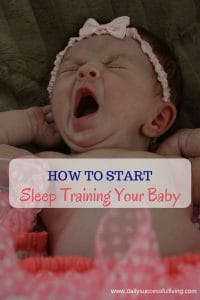 Sleeping training doesn't need to be torture for your or your baby. Try this simple technique to begin the sleep training process.