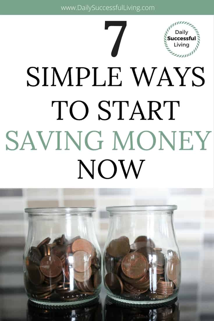 Trying to save money? These 7 money saving tips work for anyone, even those on a low income. They are simple actionable tips that will help you find creative ways of putting aside a little bit of extra money every month. #moneysavingtips #howtosavemoney #savemoneyonalowincome #savemoneyeachweek #savemoneyforvacation #emergencyfund