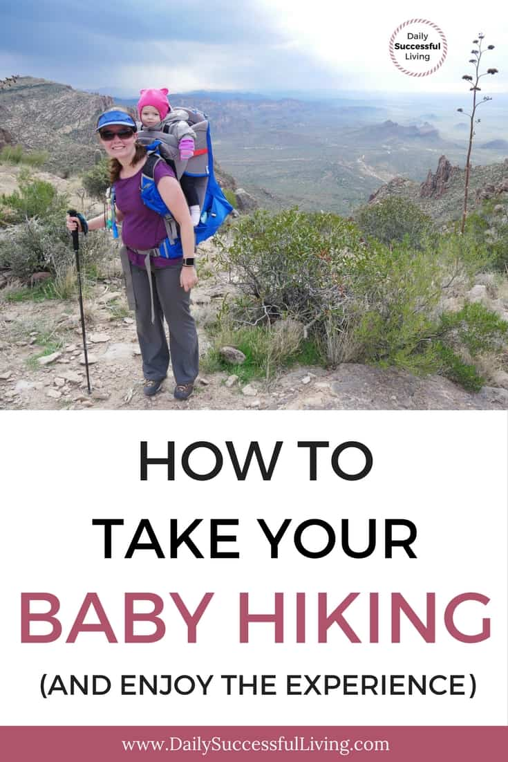 9 Tips To Survive Hiking With A Baby