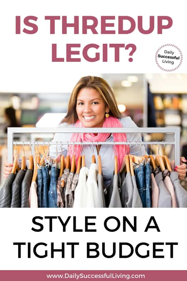 Is Thredup Legit?  Style On A Tight Budget
