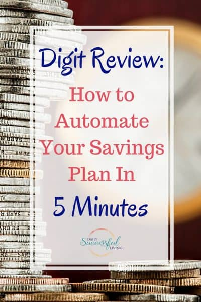 Money Saving Tip: Saving Your money doesn't need to be hard. Digit helps you automate your savings in less than 5 minutes.