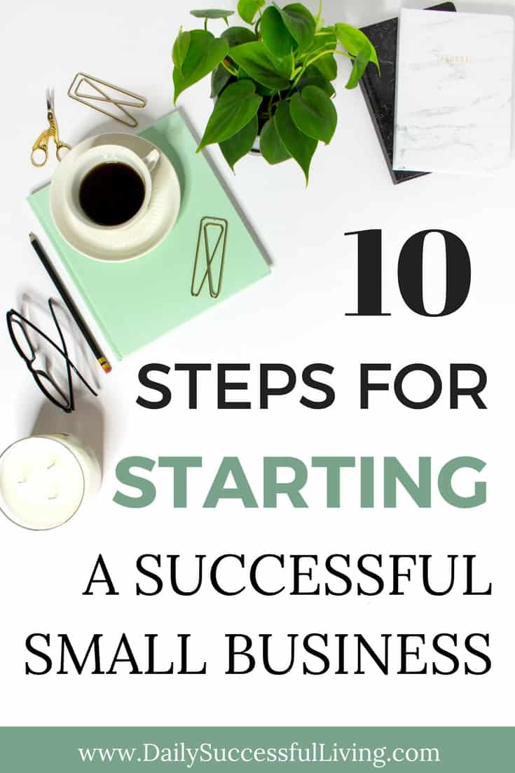 Trying to start your own small business? I started one and lost $55,000 because of stupid business mistakes. These 10 business success tips will help you start a successful small business by avoiding many of the common business failures of many new entrepreneurs.