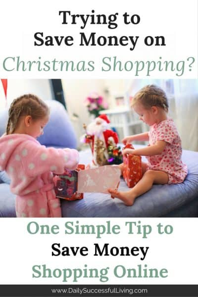 One Simple Way To Save Money Shopping Online