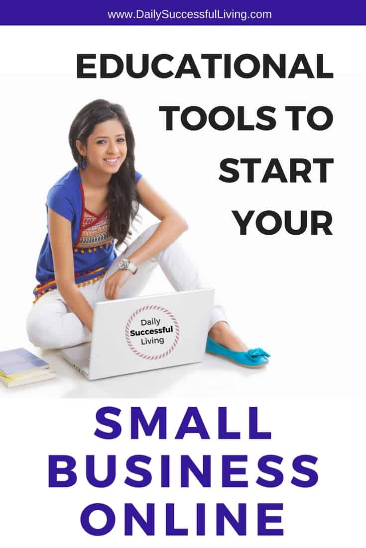 Starting an online business? Finding the right tools to make your small business online a success will help you grow your business correctly from the beginning. Educational resources and tools to help you educate yourself online. | Continuing educational resources | Online business tips for entrepreneurs #entrepreneurtips