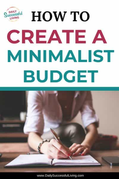 Budget by Percentage:  Create a Minimalist Budget