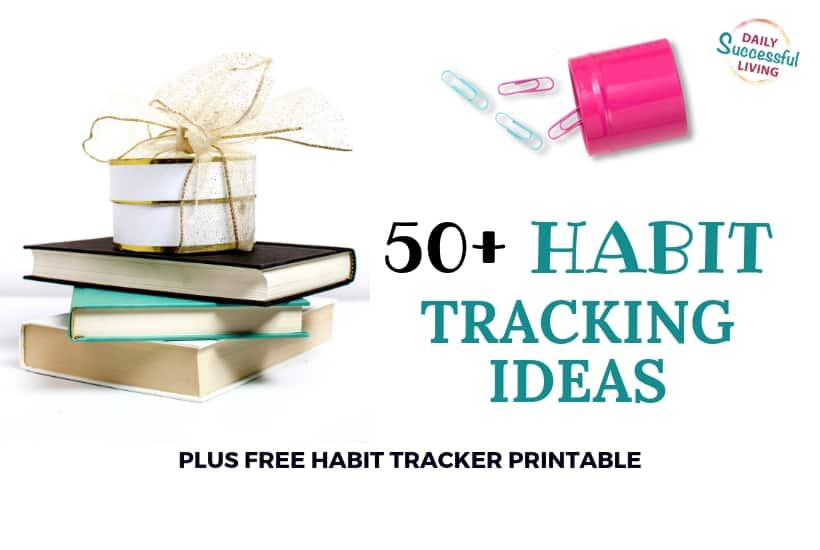 Habit tracking list to help you accomplish your goals with free PDF Habit Tracker worksheet.