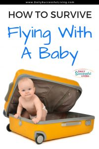 Flying with a baby can be a lot of fun, but it takes a decent amount of planning. 12 tips to help you fly with your baby. Tips to survive flying with a baby. Learn how to fly with your infant. Gear and baby supplies you need when flying with a baby.