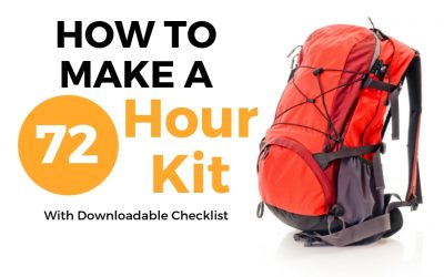 How To Build The Best DIY 72-Hour Emergency Kit