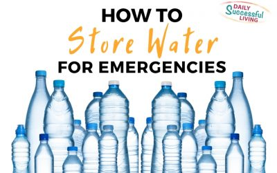 How To Store Water for Emergency Situations