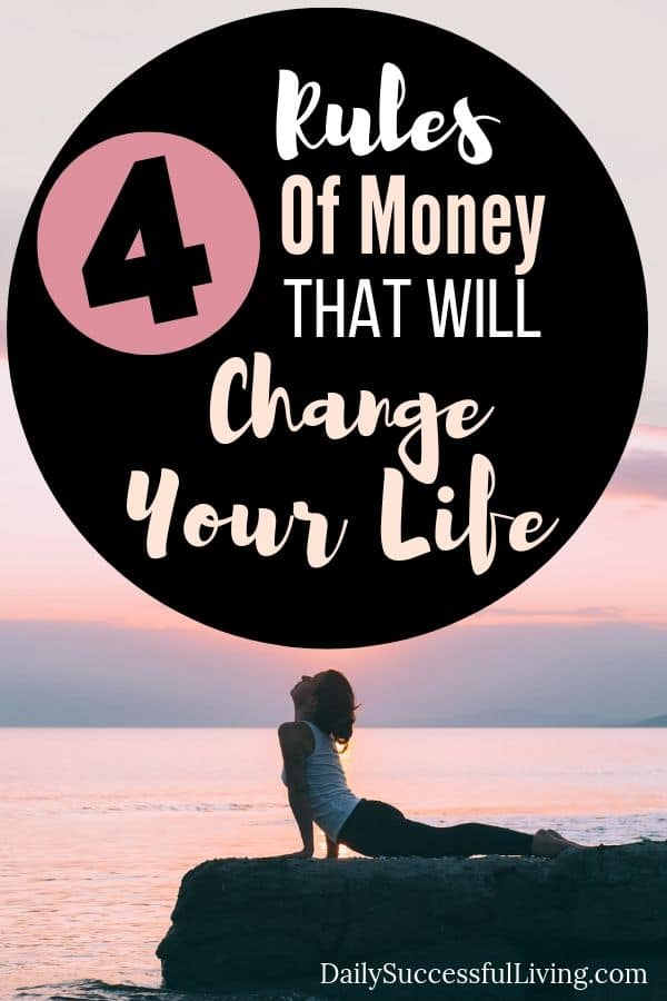 When you follow the financial rules of money you will completely change your life. Money rules will help you manage your money so that you can finally save money, pay of debt and begin paying yourself first. These simple money rules will help you change your personal financial life. 4 Tips to help you build wealth and begin growing your money.