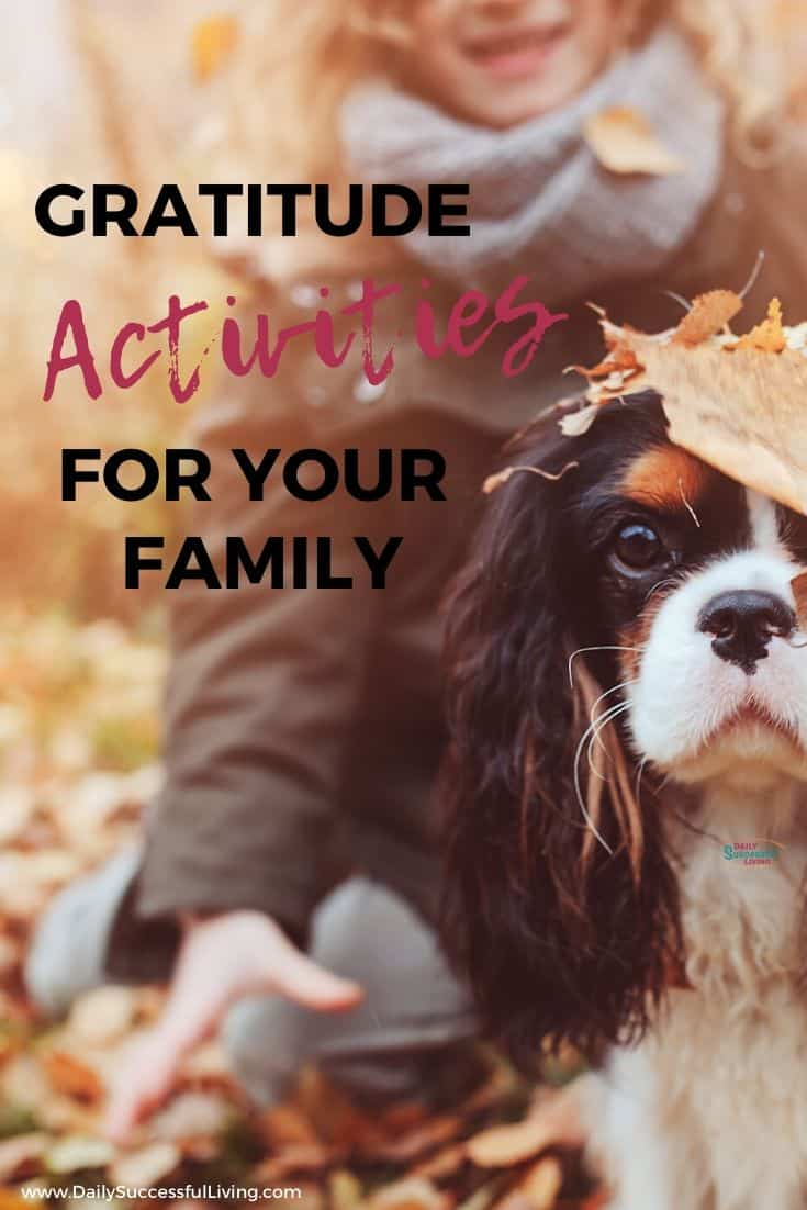 Do you want your kids and family to be more thankful for their blessings? These Grateful attitude activities will help you get started. Tips to help you with fun gratitude activities for your family.